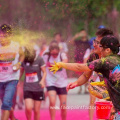 Red Yellow Blue Green Orange Colors Holi Powder