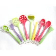 China for Silicone Kitchen Utensils Set 9PCS Heat Resistant Silicone Cooking Utensil Set supply to South Korea Supplier
