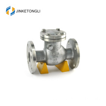 JKTLPC025 double dual plate stainless steel flow control 2 way check valve