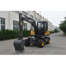 7 ton hydraulic grab wheel excavator for sale