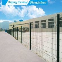 triangle bending welded iron wire steel fence mesh