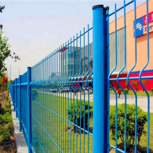 Welded Triangle Curved Garden Fence 3D Fence