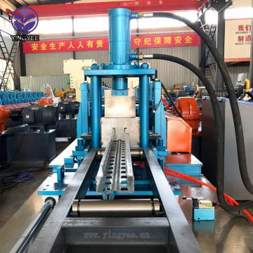 storage rack upright shelf roll forming machine