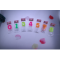 Hot Sale Colorful Cheaper Number Candle