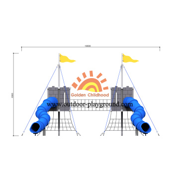HPL Park And Playground Design Equipment For Sale