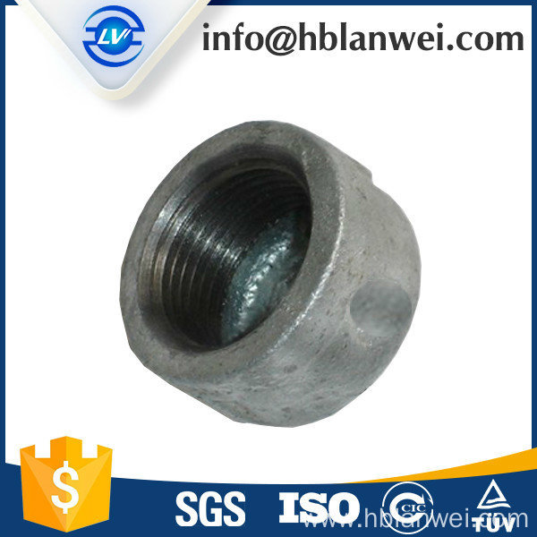 Hot dipped galvanized pipe fittings
