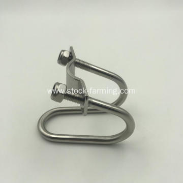 Sow gestation stall cage farm Stainless Steel fastener
