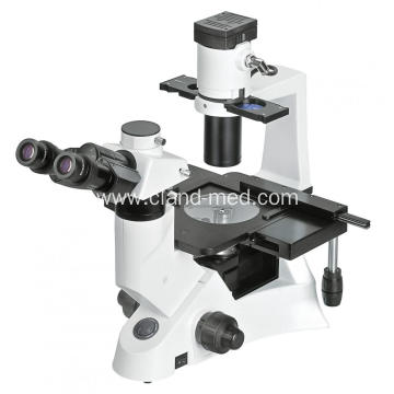 INVERTED BIOLOGICAL MICROSCOPE
