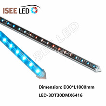 12V Wholesale SMD5050 DMX 3D RGB Vertical Tube