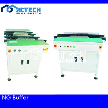 10 Years for PCB Loader And Unloader Conveyor NG OK Buffer supply to Myanmar Factory