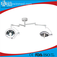 Factory Price for Double Dome Halogen Operating Lamp OR room Ceiling shadowless operation light supply to Burundi Wholesale