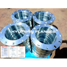 Flange DIN 2566 Threaded Electro Galvanized
