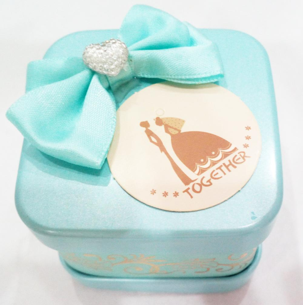 Wedding Tin Candy box