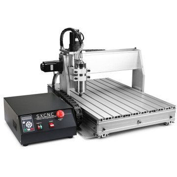6040Z 4 ejes CNC Router Machine 800W Eje