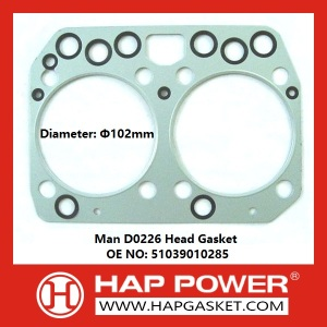 Man D0226 Head Gasket 51039010285