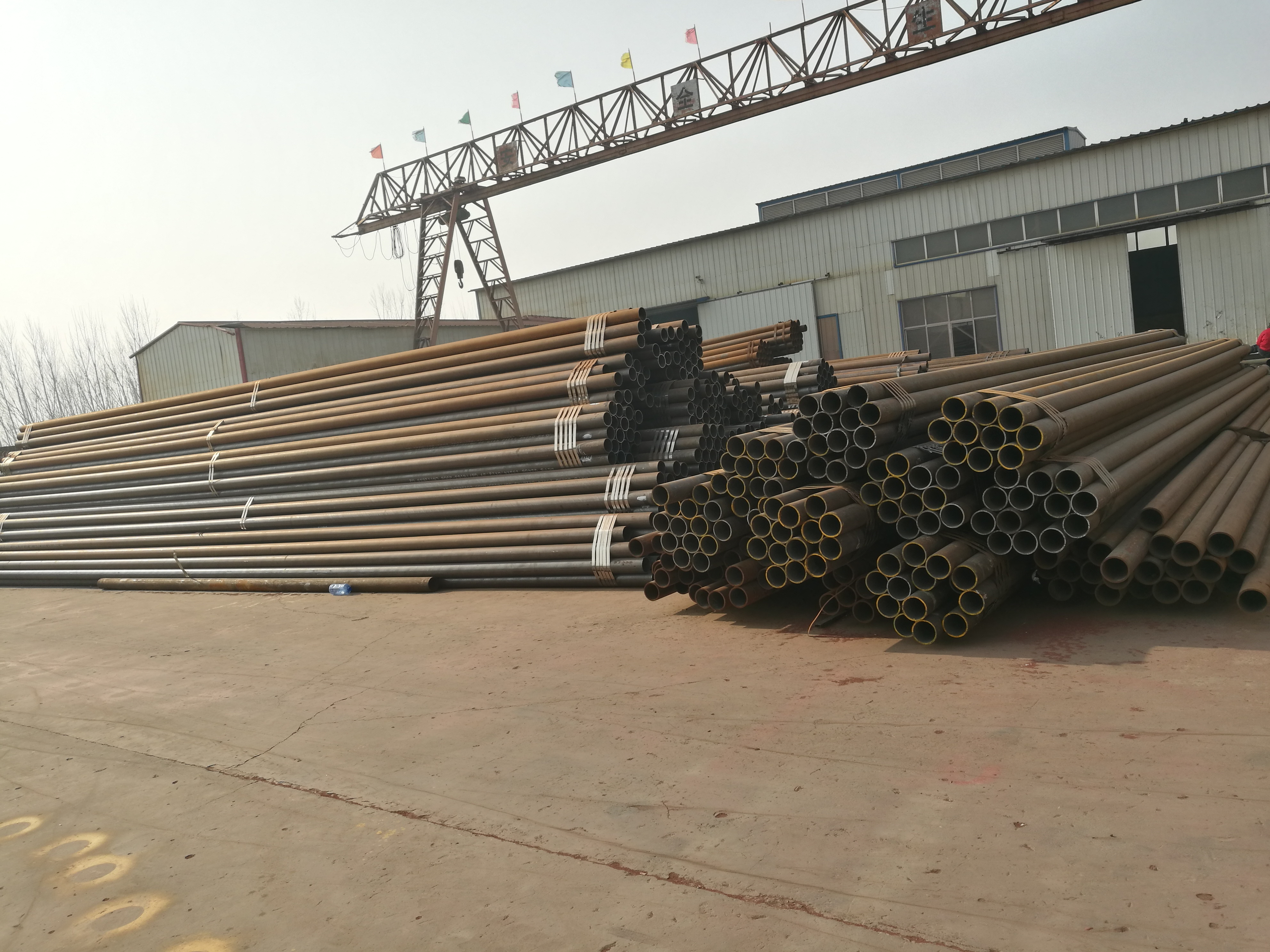 seamless pipe raw material at stock
