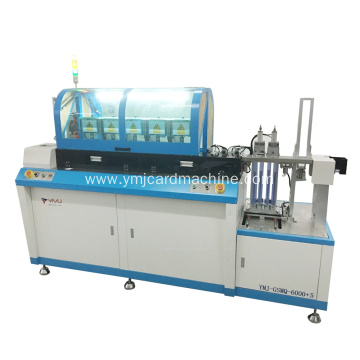 Five Stations Full Auto SIM Card Punching Machine