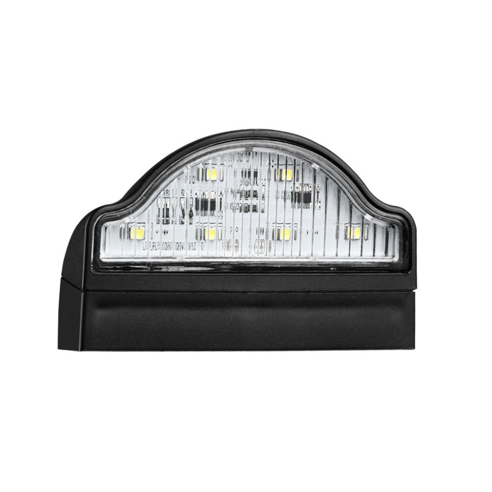 ECE LED Truck Trailer No. Plate Lamps