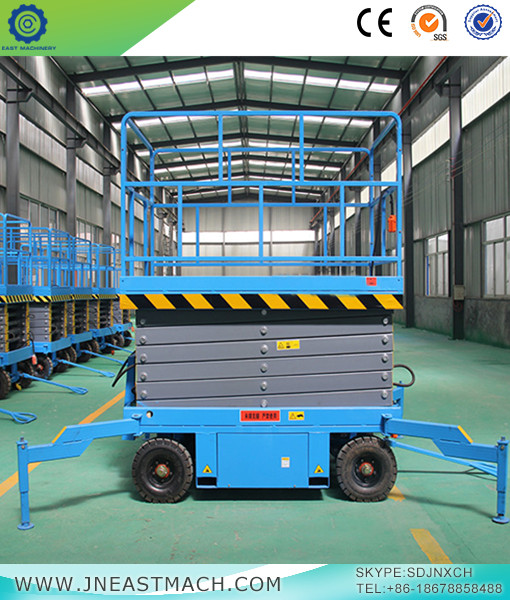 Trailer Electric Mobile Scissor Lift