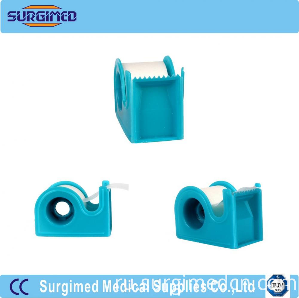 Medical Breathable Soft Non Woven Tape With Dispenser