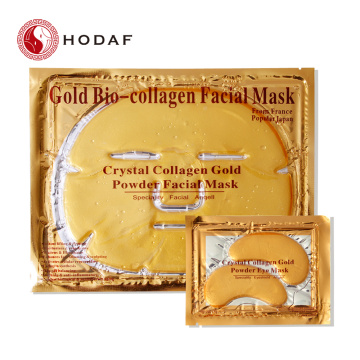 Best selling korea collagen anti-aging golden facial mask