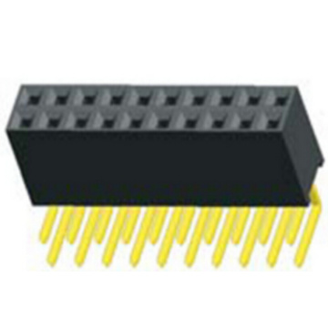 1.27mm Female Header Dual Row AngleType