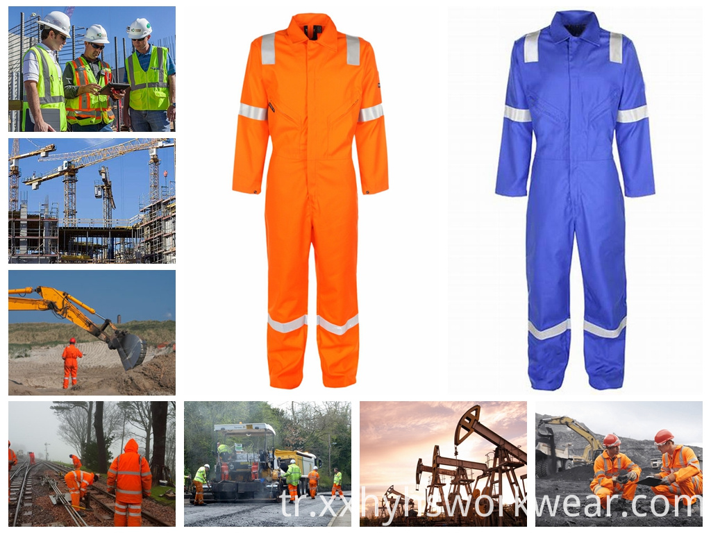reflective safety protection clothes