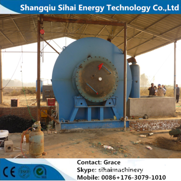 High Oil Yield Pyrolysis Plant For Tire