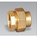 Brass pipe fitting brass Femal Equal Union
