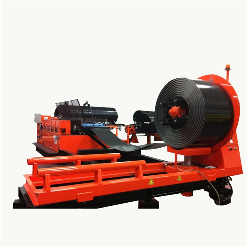 Spiral Corrugated Culvert Pipe Forming Machine