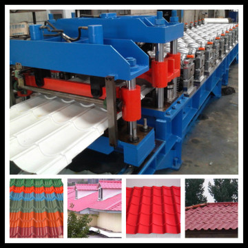 Glazed Roof Tile Making Machne