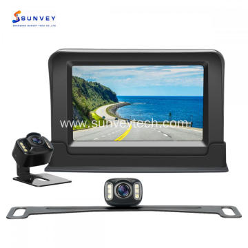 Car Reverse Camera with Monitor 4.3Inch