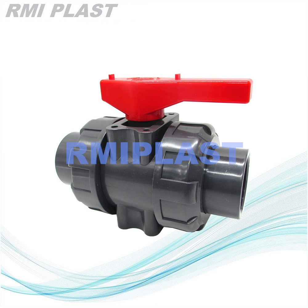 PVC Ball Valve Thread End BSPT NPT