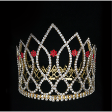Flower Round Tiara Beauty Pageant Crown