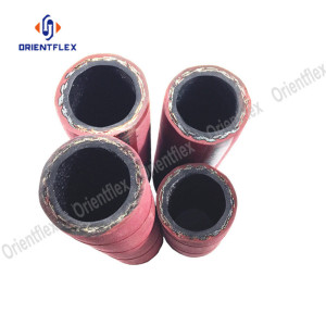 High temperature wire braided steam rubber hose
