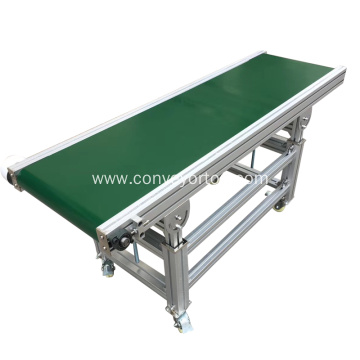 Automatic Small Flat PVC Rubber Belt Conveyor System