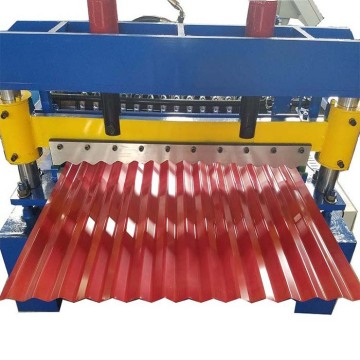 Corrugated Steel Roofing Sheet Roll Forming Machine Price
