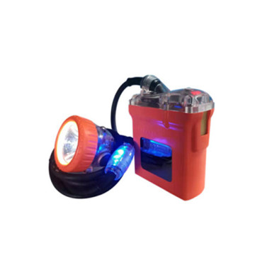 Cap Lamp with tail light (collision avoidance)