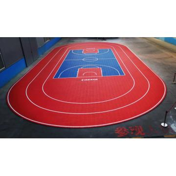 Interlocking Court Tiles Basketball Tennis Sports Flooring