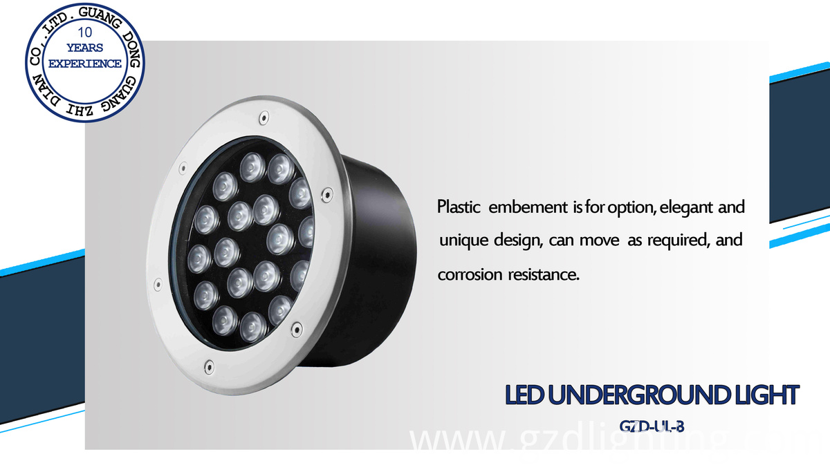 6W led buried light