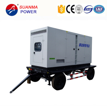 Mobile Trailer Station 500kw