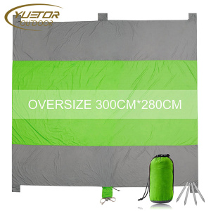 210T Nylon Oversized Water-Resistant Camping Picnic Mat
