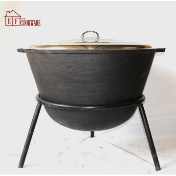 Cast Iron Jambalaya Pot