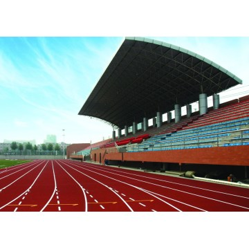 High Elasticity Spraying Polyurea Courts Sports Surface Flooring Athletic Running Track