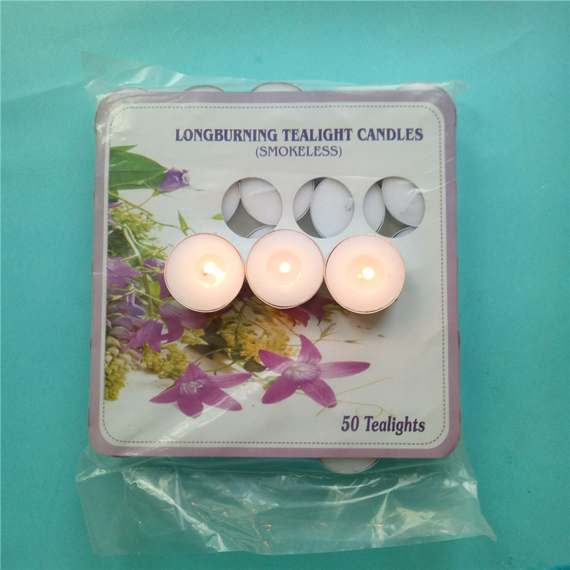 Long Burning Tealight Candles