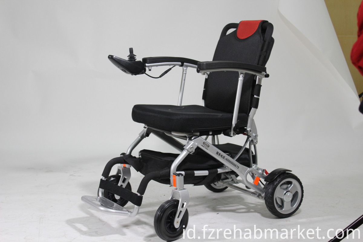 Old Man's Lithium Battery Wheelchair