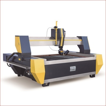 Specialist waterjet cutting machine for stone