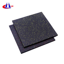 Good quality 100% for Exercise Composite Rubber Mats Noise-proof gym fitness rubber flooring mat export to Gambia Supplier