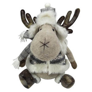 Christmas reindeer Holiday Stuffed Animal toys