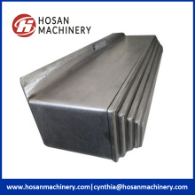 CNC steel flexible dust accordion shield bellow cover